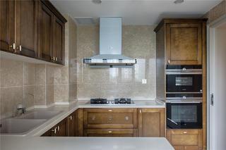 170平法式风格厨房装修效果图