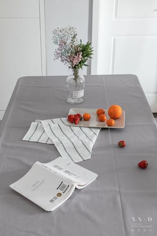 90㎡北欧风格装修餐桌布置图