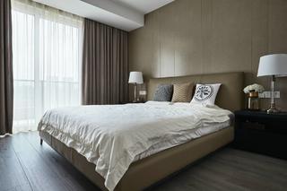 复式现代混搭风卧室装修效果图