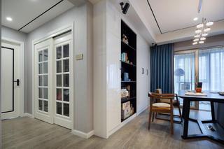 180平现代简约装修餐边柜设计