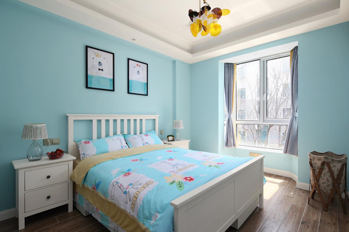 美式风三居儿童房装修效果图