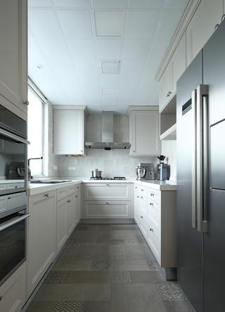 180㎡美式风格厨房装修效果图
