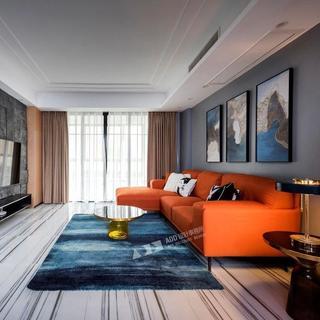 现代风格三居装修效果图