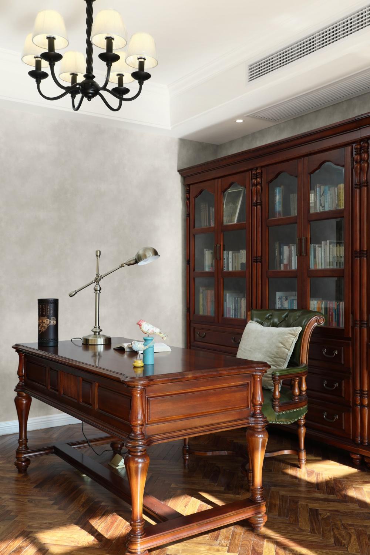 美式风格别墅书房装修效果图