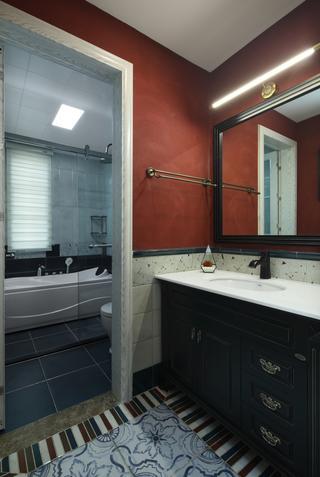 美式风格别墅卫生间每日首存送20
