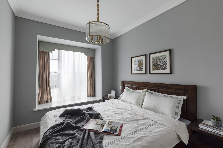 155平美式风格卧室装修效果图