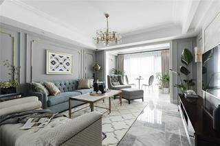 155平美式风格客厅每日首存送20