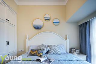 美式三居臥室裝修效果圖