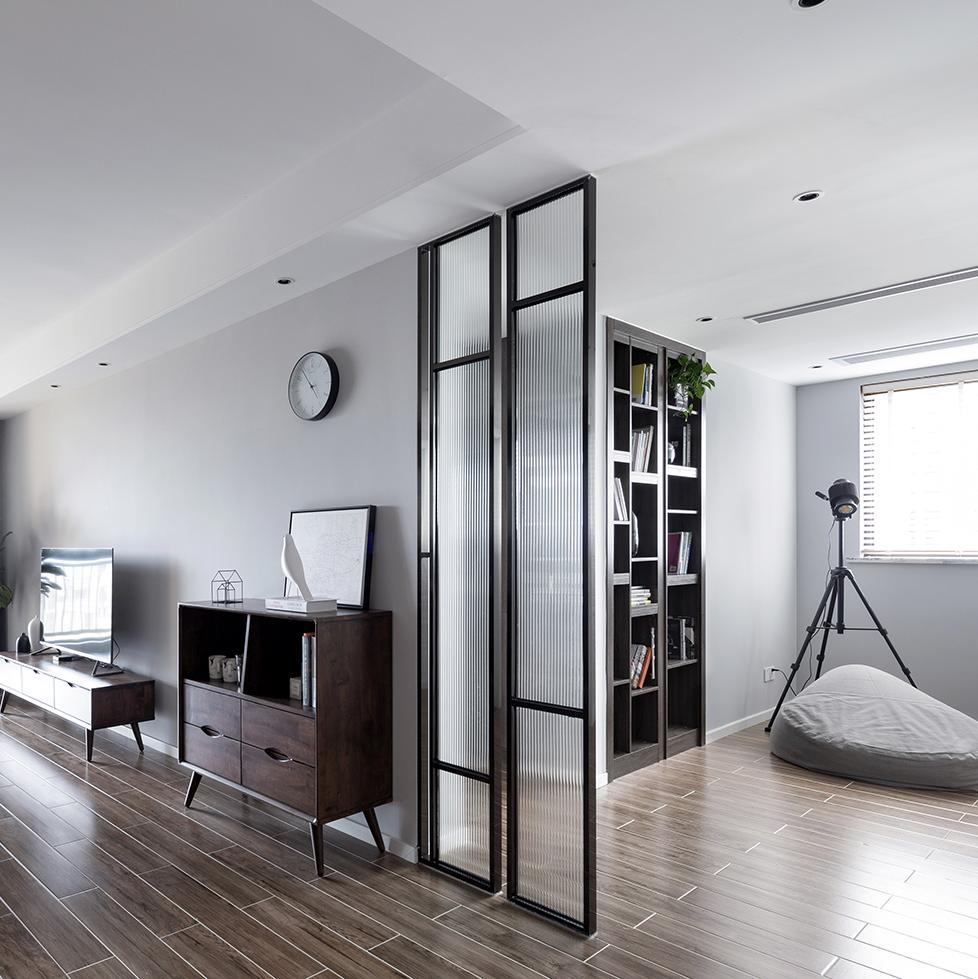 120㎡现代三居装修效果图