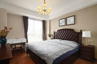 200平美式风卧室装修效果图