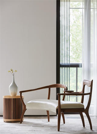 现代别墅装修休闲椅设计