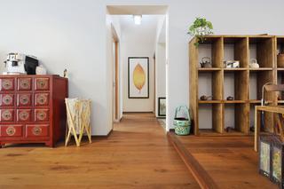 160平米三居室过道装修效果图