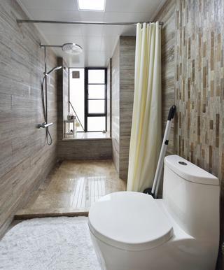 160平米三居室卫生间装修效果图