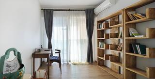 160平米三居室书房装修效果图
