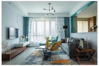 北欧风格两居客厅每日首存送20
