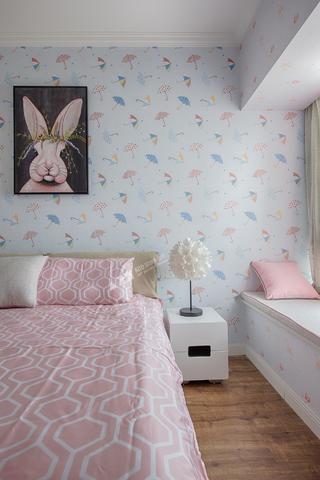 复式现代三居儿童房装修效果图