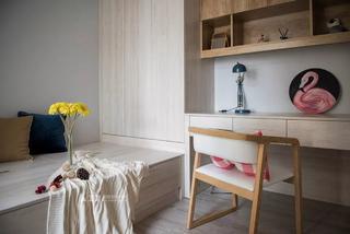 67平米二居室榻榻米房装修效果图