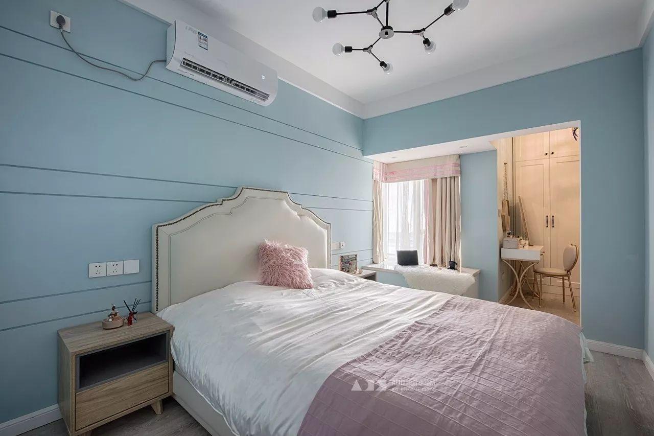 67平米二居卧室装修效果图