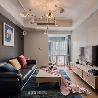 67平米二居室装修效果图
