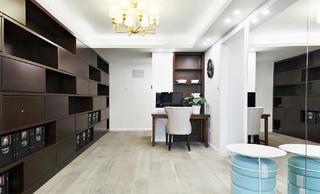 170平米三居室书房装修效果图
