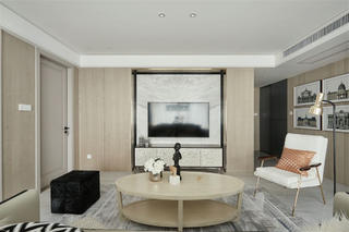 120平米三居室电视墙装修效果图