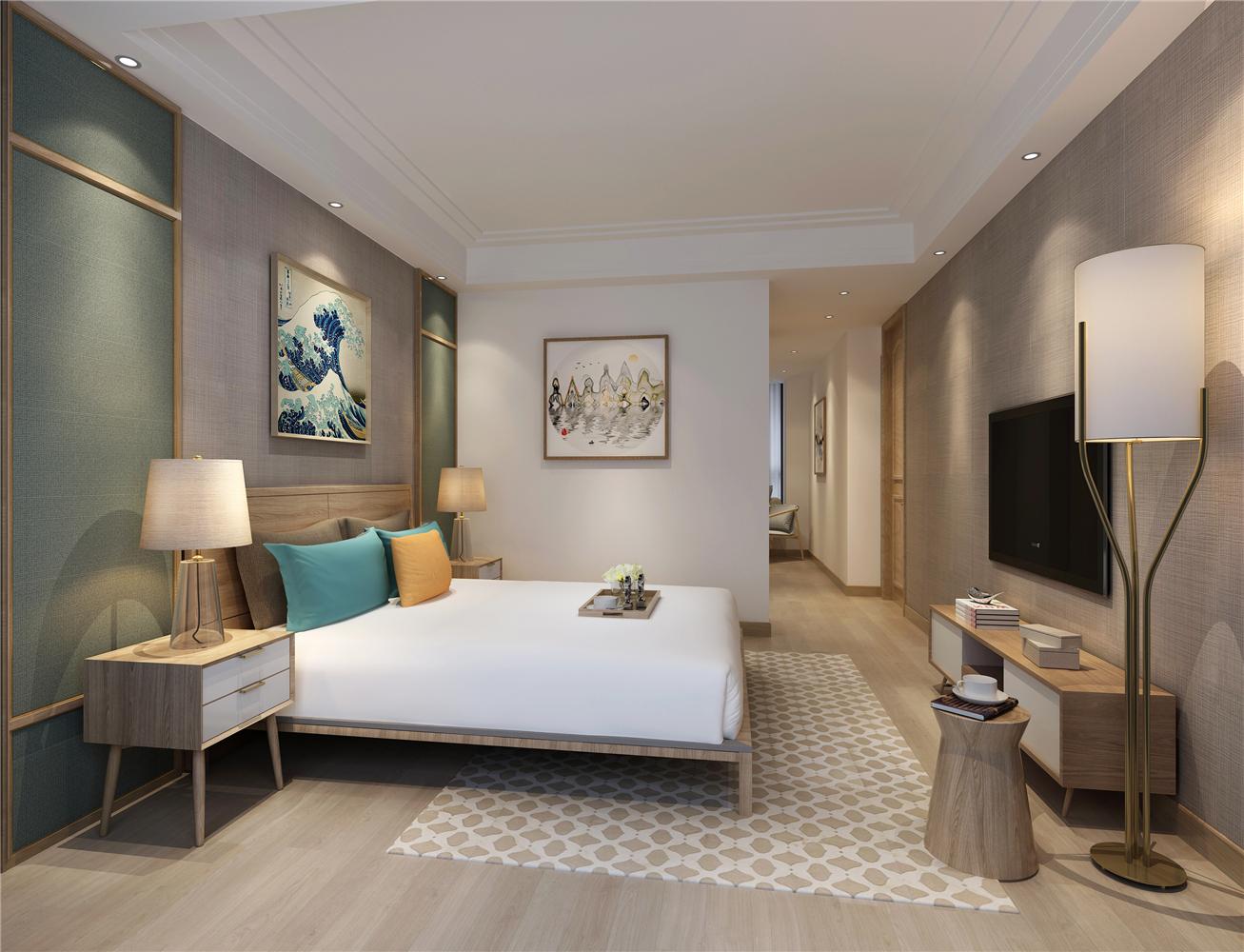 日式风格两居卧室装修效果图