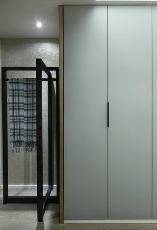 150㎡现代中式装修储物柜设计