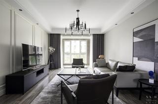 140平米三居室客厅每日首存送20