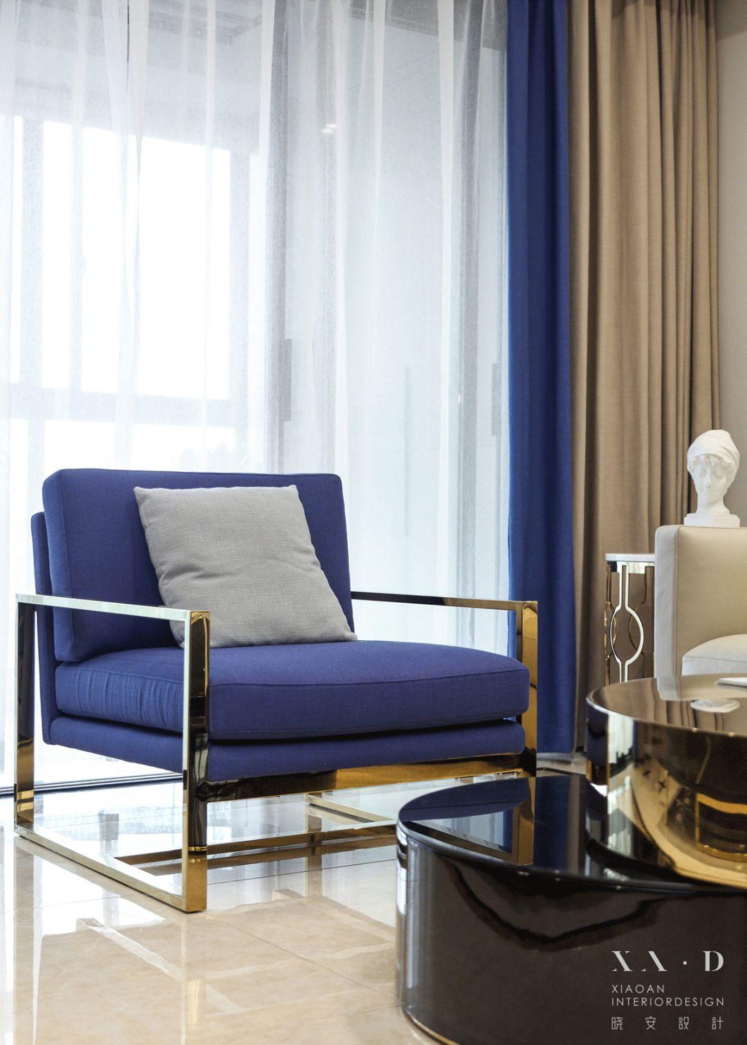 140平米混搭风格装修单人椅设计