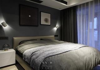 125㎡现代简约卧室装修效果图