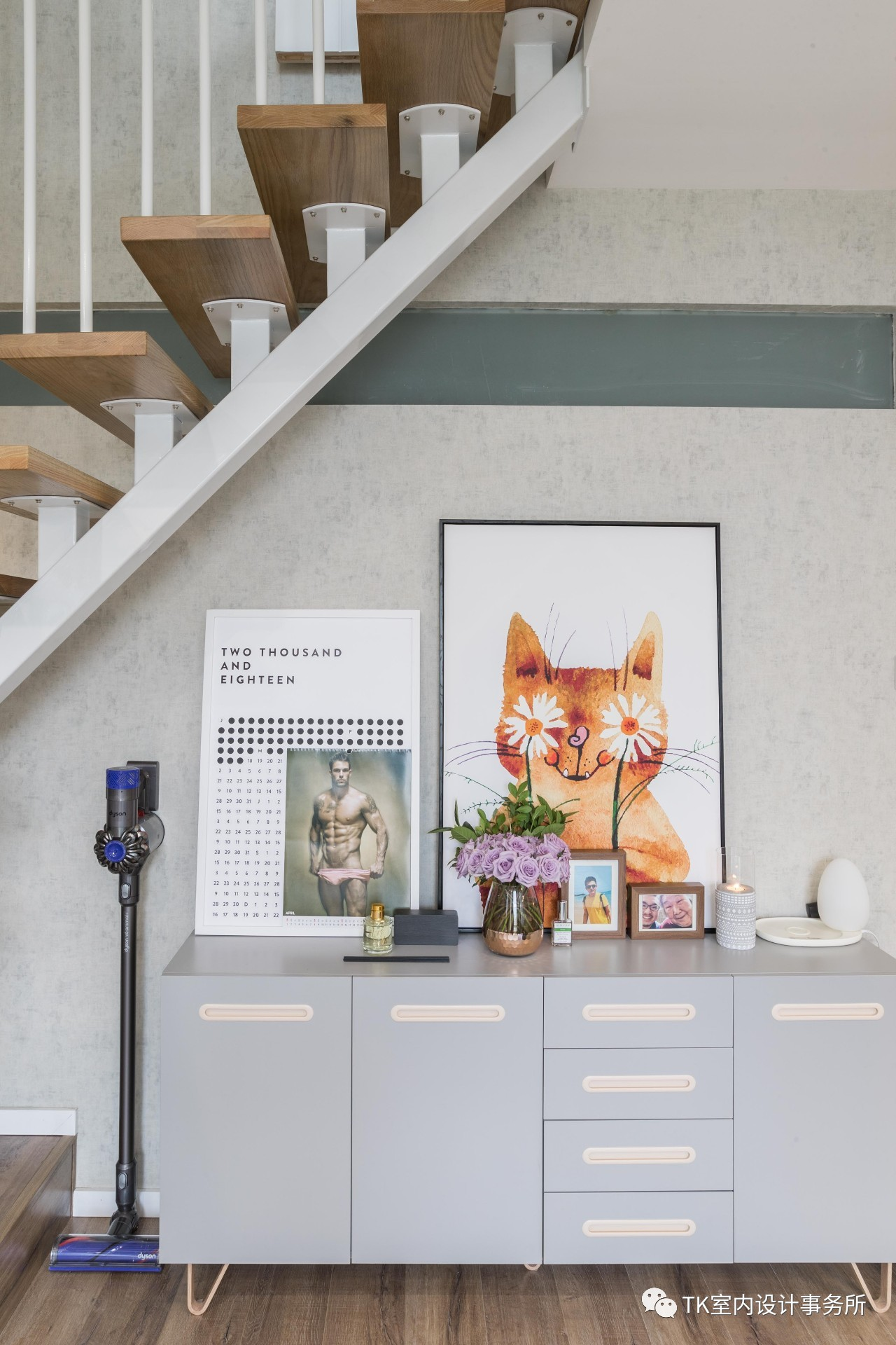 85平米一居室装修收纳柜设计