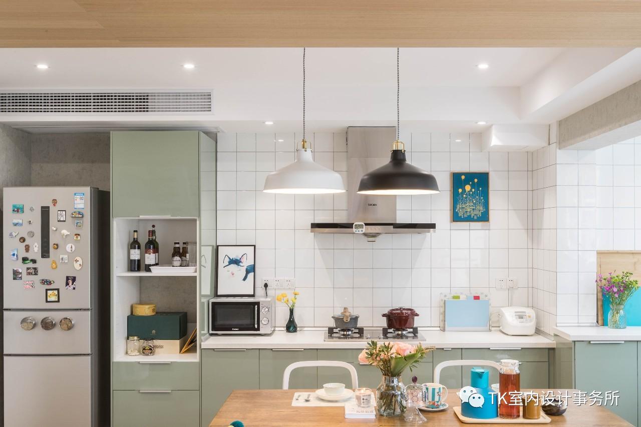 85平米一居室厨房装修效果图