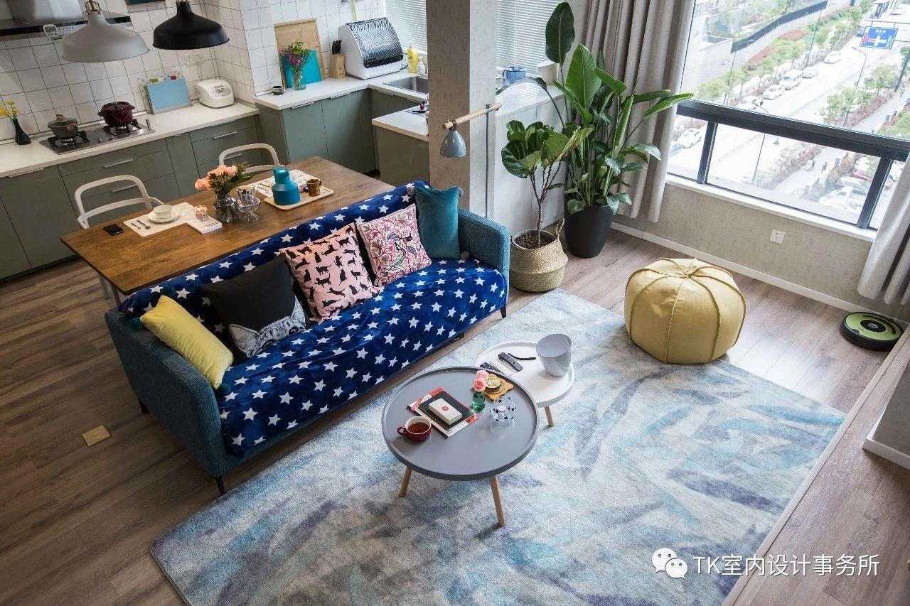 85平米一居室客厅装修效果图