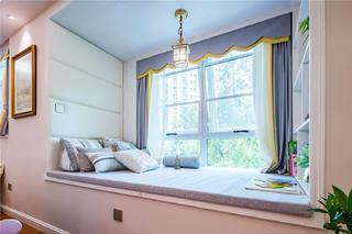150平米美式风格装修飘窗设计
