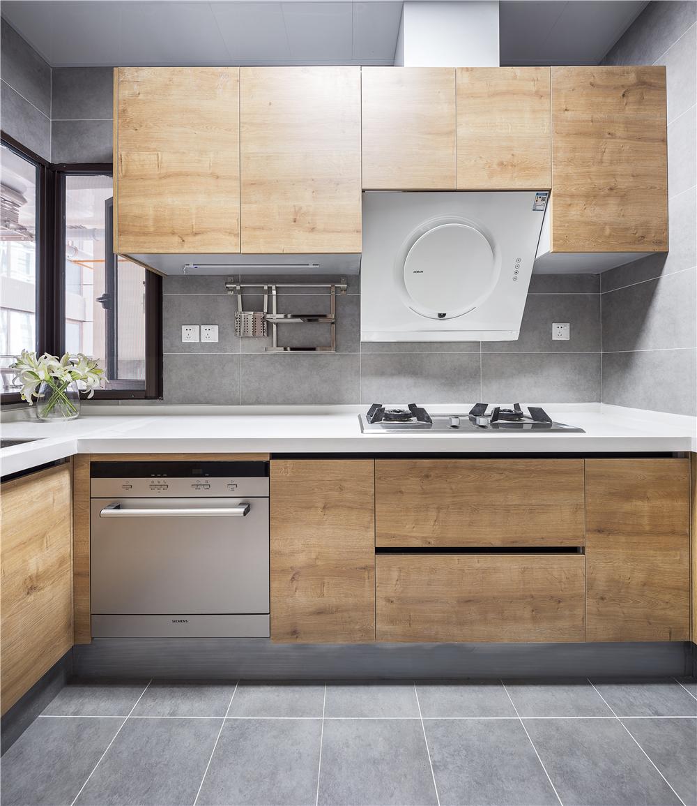 100平米三居室厨房装修效果图
