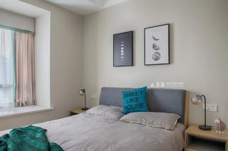 86平米两居卧室装修效果图