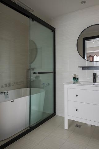 86平米两居室卫生间装修效果图