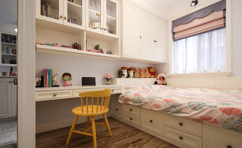 90㎡美式三居榻榻米儿童房装修效果图