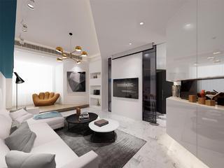 59平米小户型客厅装修效果图