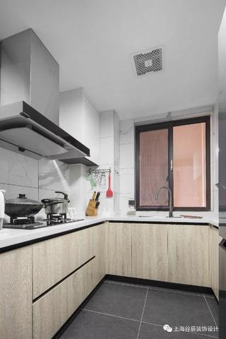 90平北歐風格廚房裝修效果圖