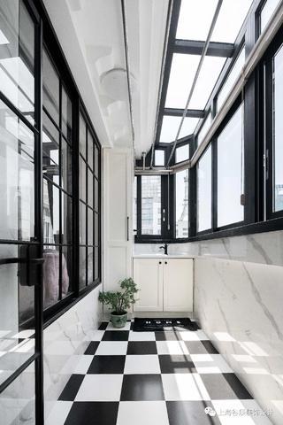 北欧风两居室阳台装修效果图