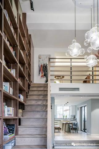140平米复式装修楼梯效果图