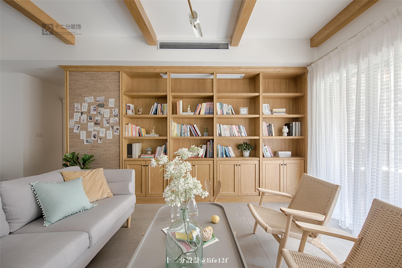 120㎡三居室客厅装修效果图