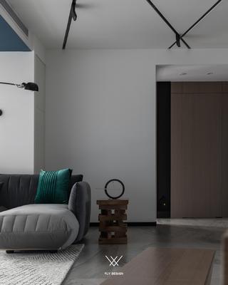 现代风两居室装修客厅一角