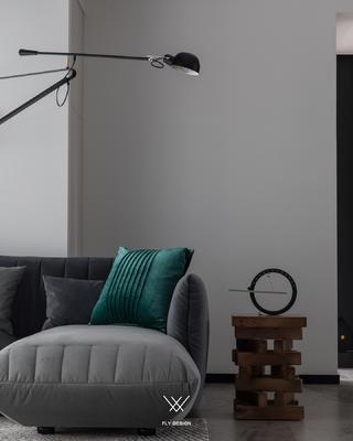现代风两居室装修沙发一角