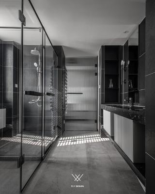 现代风两居室卫生间装修效果图