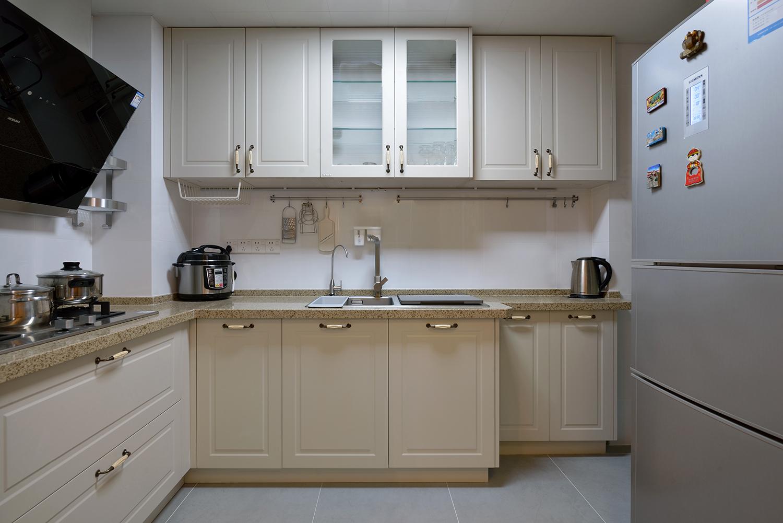 120㎡日式风格装修厨房效果图