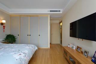 120㎡日式风格卧室装修效果图