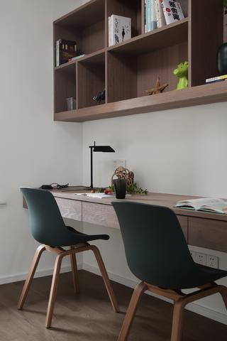 178平现代简约书房装修效果图