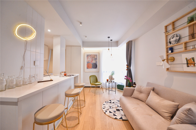 小户型一居室客厅装修效果图